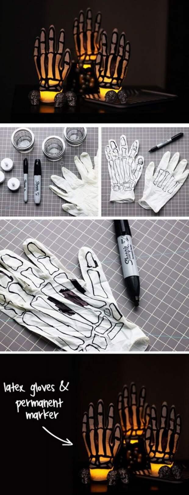 Рука скелета (DIY)