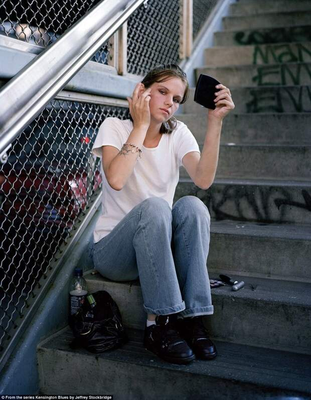25-летняя Таня рассказала фотографу, что работает в секс-индустрии с 18 лет америка, люди, наркомания, наркоманы, сша, уличные фотографы, фото, фотограф