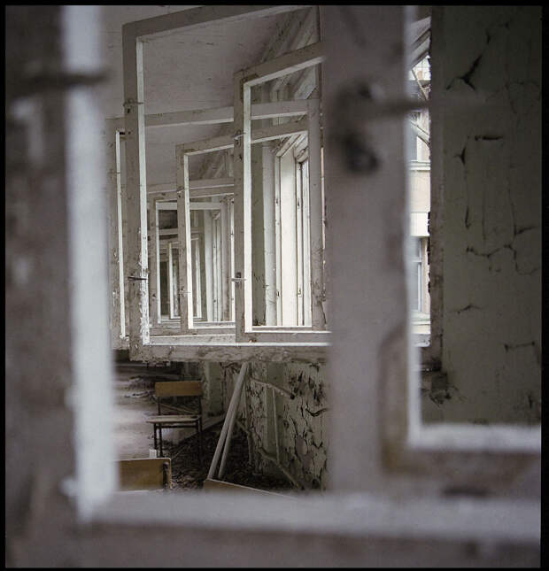 10 крутых плёночных фото Чернобыля