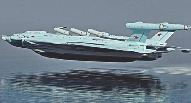 Экраноплан возвращается: Россия планирует возродить проект, созданный в Советском Союзе