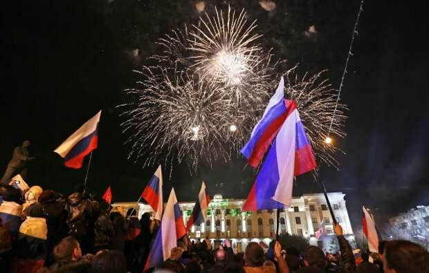 Путин: «Вся Россия никогда не забудет день референдума в Крыму»