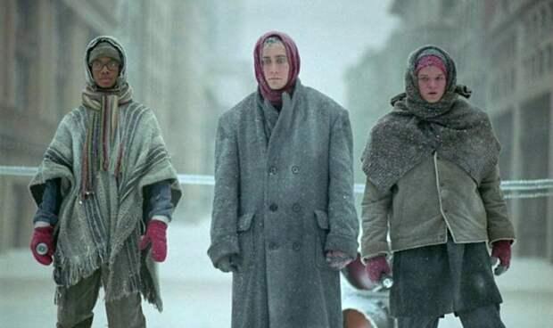 Фото из Техаса. Никого не напоминает? Немцы под Москвой, французы под Москвой... (Яндекс. Картинки)