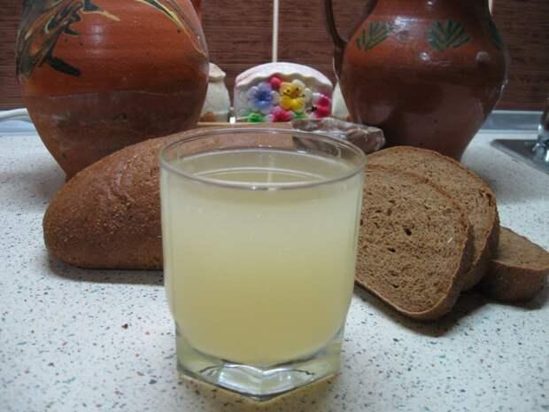 Классический домашний квас (на 3-литровую банку) Домашний квас, готовка, жажда, квас, легкие рецепты, напиток, рецепты