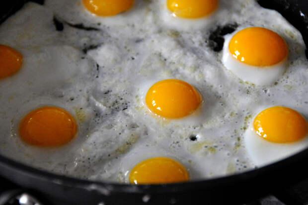 вкусная яичница