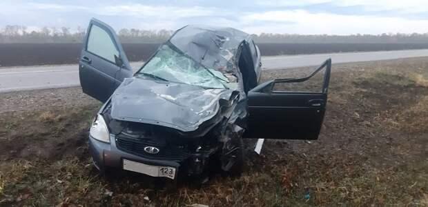 Пять человек погибли в ДТП на Кубани