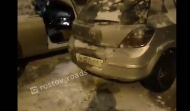 ВРостове ищут водителя, протаранившего четыре машины
