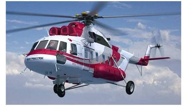 В воздух поднялся новейший серийный вертолет