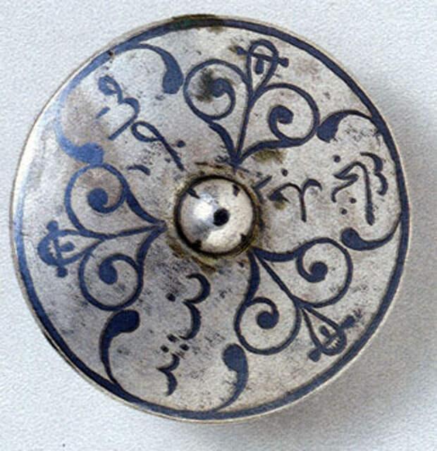 Наградной знак отличия - серебряные 'ордена', учрежденные Шамилем. 2-я четверть XIX в.