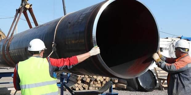 ЕС просят ответить на санкции США против «Северного потока — 2»