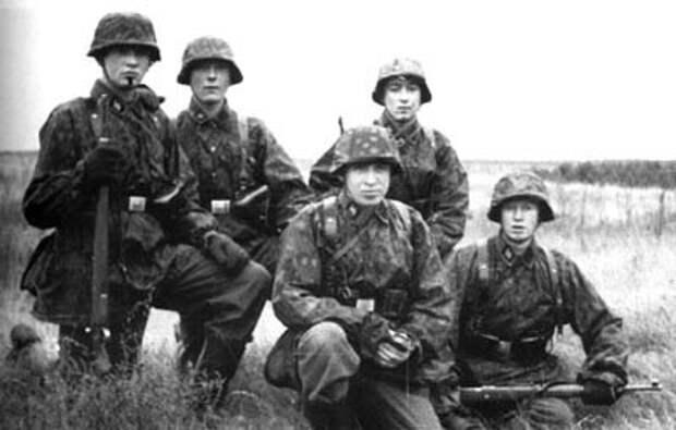 Финские эсесовцы в 1941 году