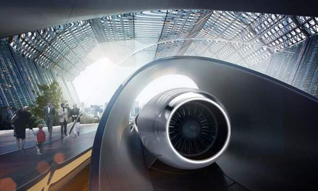 Как работает Hyperloop?