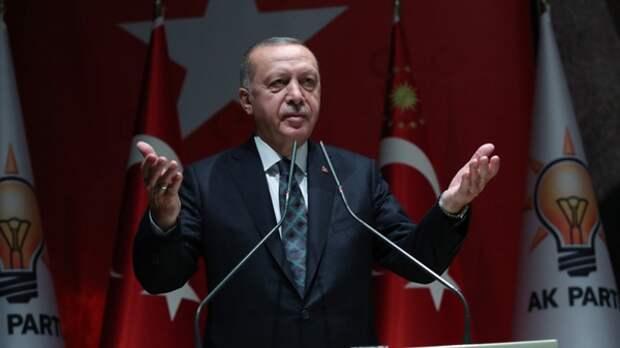 Эрдоган: Турция выступает за сохранение территориальной целостности Украины