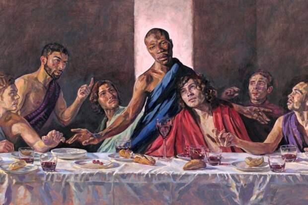 Новый Иисус – «черный радикальный революционер». Духовные скрепы Британии треснули черный иисус, британия, сша, сошли с ума, хайп