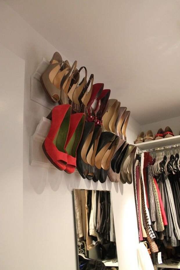 27 классных и продуманных идей для хранения обуви