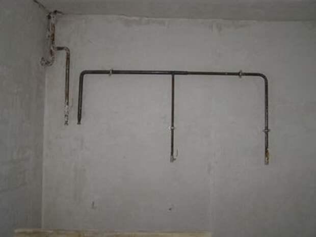 Как переустроить газовую трубу в квартире