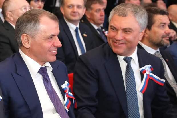 Константинов хочет наказать Украину за водную блокаду Крыма
