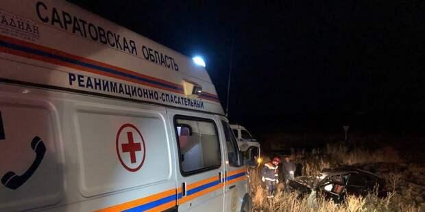 Шесть человек пострадали в ДТП в Саратовской области