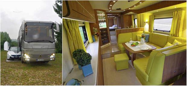 Дом на колёсах с собственным гаражом за 1,7 млн долларов