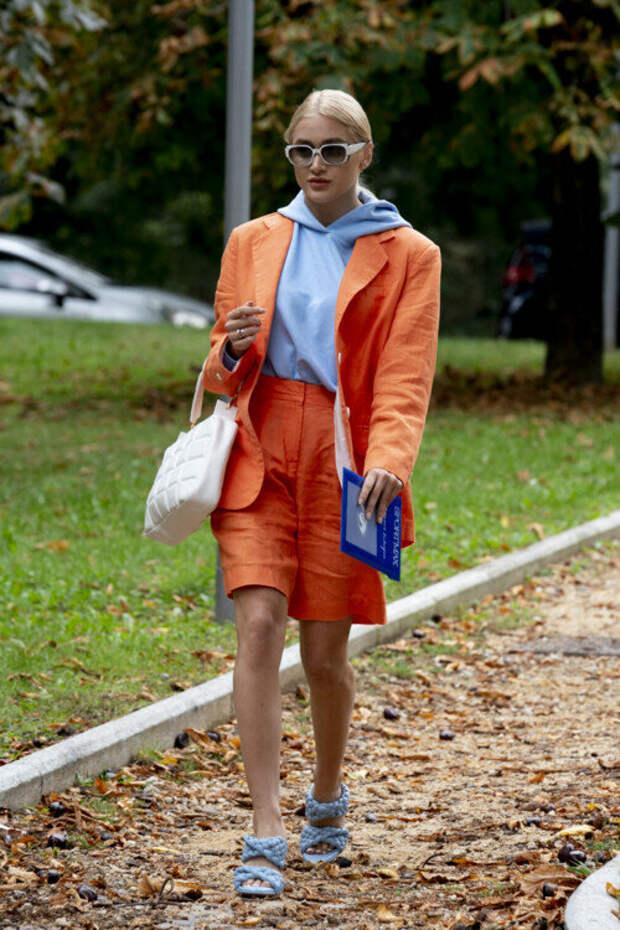 Какие тренды задал streetstyle недели моды в Милане