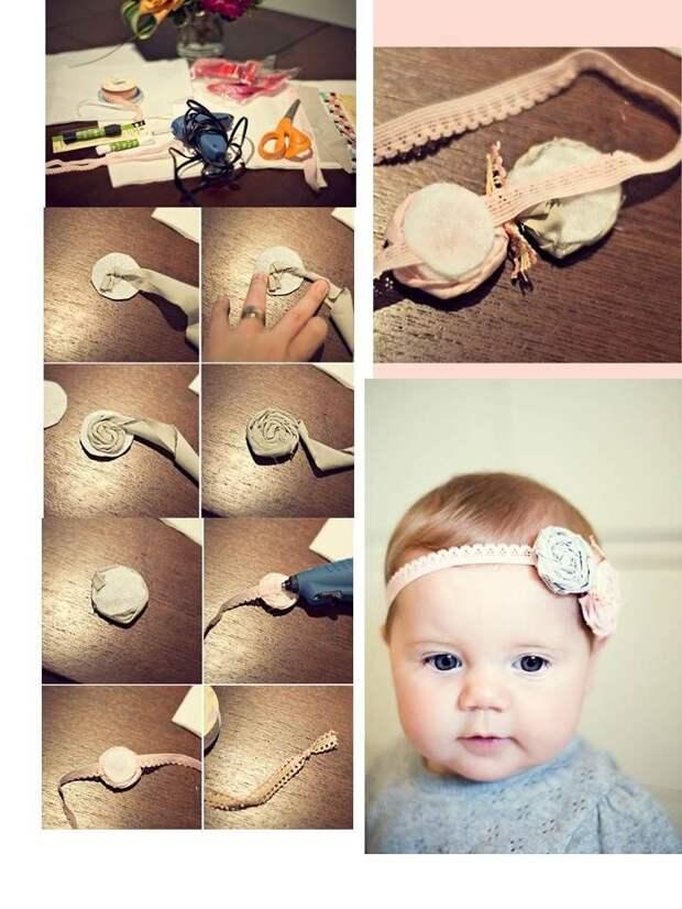 Аксессуары для волос своими руками: идеи и пошаговые фото