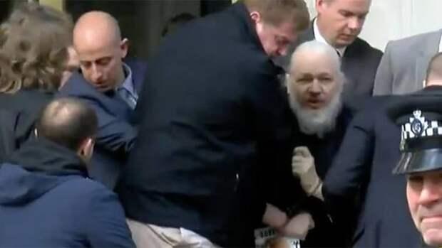 Освобождение затворника. Ассанж свободен! Это не арест - это свобода!