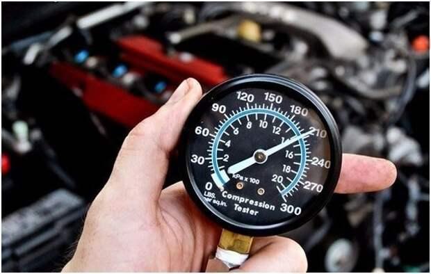 Компрессия двигателя и как её проверить.