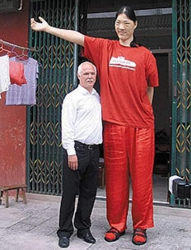 Самые высокие женщины в мире