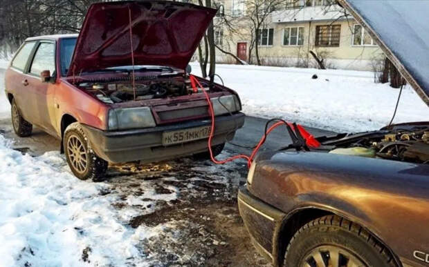 Как правильно «прикурить» автомобиль, когда сел аккумулятор. Что можно делать и чего нельзя
