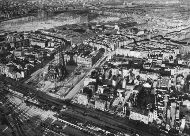 1245 Послевоенный Берлин с высоты птичьего полета