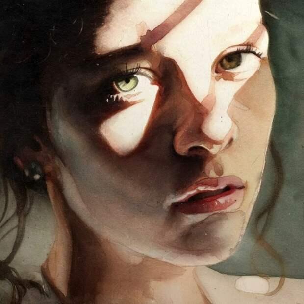 """""""Эта женщина! Увижу и немею..."""" Бразильский художник Marcos Beccari"""