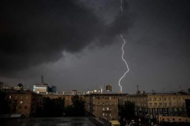 Синоптики предупреждают калужан о сильном дожде с грозой