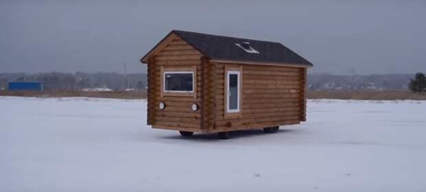 Мужики построили дерявянный дом на базе Уазика, вот что у них получилось