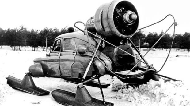 """ГАЗ М-20 """"Победа Север"""" — версия """"Волги"""", созданная для езды по снегу со скоростью до 35 км/ч СССР, гаджет, история, стиралка, техника, факты"""