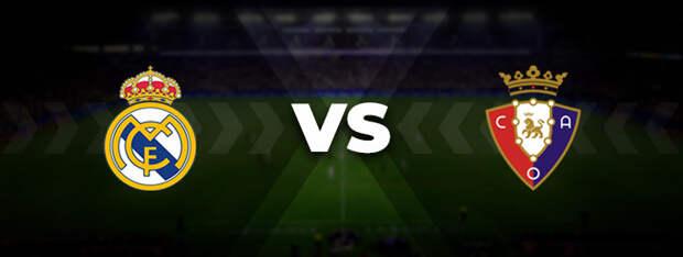 Реал Мадрид — Осасуна: прогноз на матч 27 октября 2021
