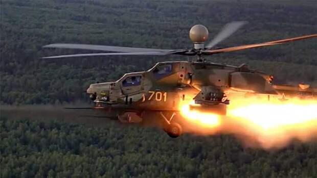 Американцы сравнили российский ударный Ми-28НМ со своим «Апачем»