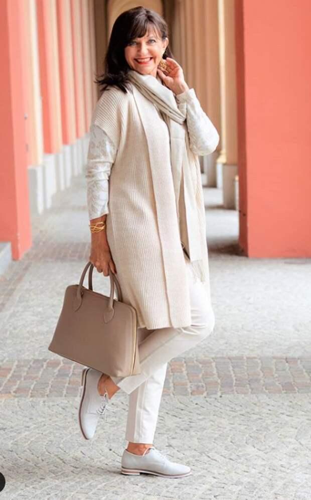 Весенние стильные образы от модниц 50+