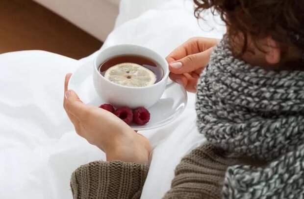 Напитки, которые помогают бороться с простудами