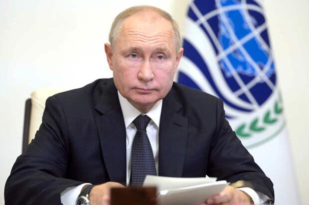 Путин назвал сумму, потраченную на поддержку россиян в пандемию
