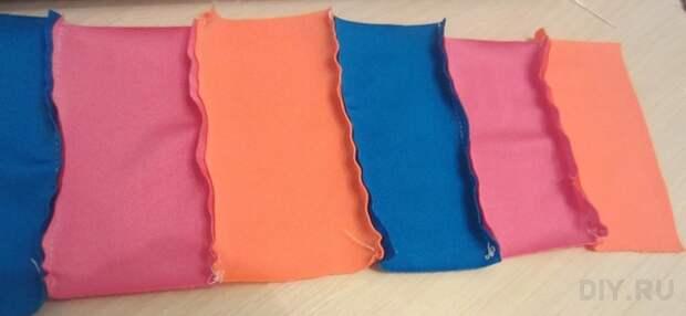 Сшиваем ткань