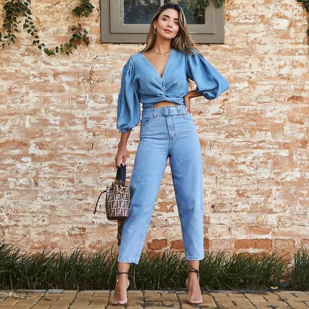 Джинсовый стиль весны: модные новинки из денима весна-лето 2021