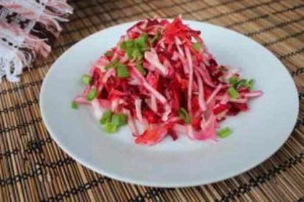 Салат из свеклы — 17 рецептов с вареной или сырой свеклой
