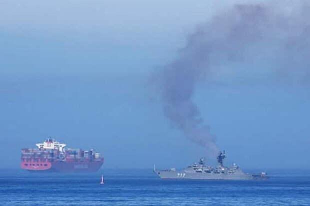 ВМС Великобриатнии пытались захватить российский корабль
