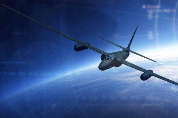 Полет на самолете-шпионе в ближний космос. Видео из кабины пилота