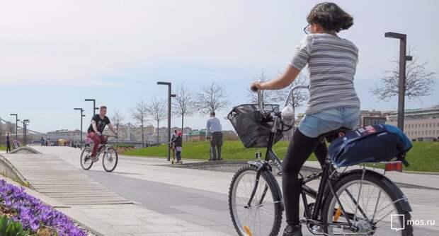 Всероссийская акция «На работу на велосипеде» в Москве продлится две недели. Фото: mos.ru