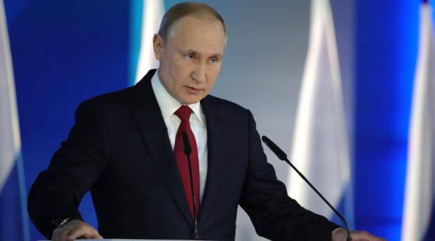 Владимир Путин назвал темы своего послания Федеральному собранию