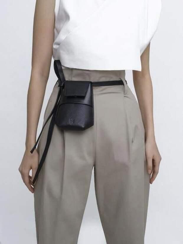 маленькие кожаные сумочки своими руками