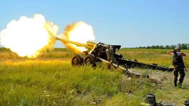 НаДонбассе зафиксирована крупная атака ВСУ сприменением артиллерии
