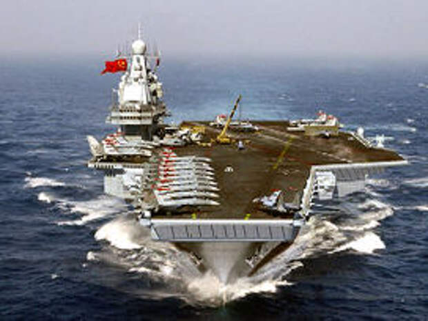 Первый китайский авианосец