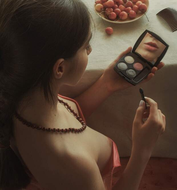 Красивая и веселая эротика от Дэвида Дубнитского