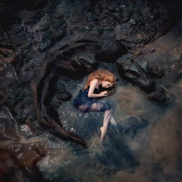 Сказочные имистические образы наснимках Сины Домке